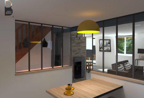 Ancienne chambre - future cuisine