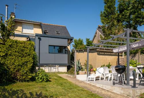 Extension Maison Rennes Après